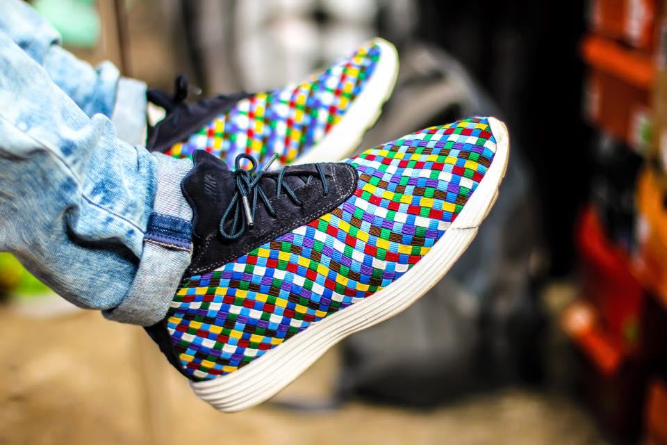 Ingo van Stappershoef - Nike Lunar Chukka Sophnet Rainbow
