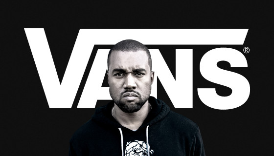 Kanye West chez Vans en 2017 ?