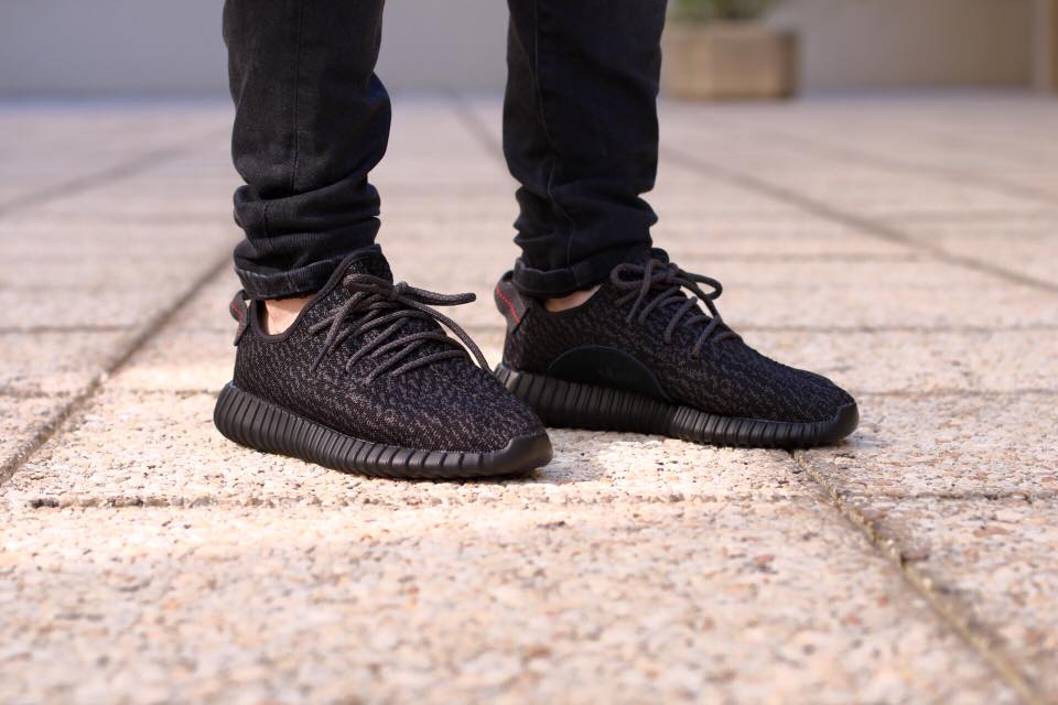 Yeezy 350 Boost Low Black Giveaway