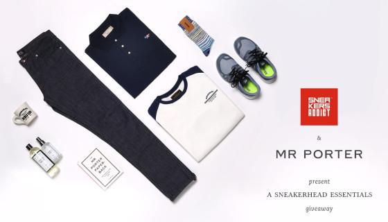 MRPORTER & Sneakers Addict™ présentent : A Sneakerhead Essentials