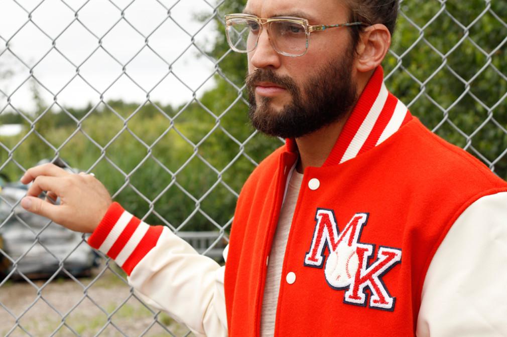 Maison Kitsune  Automne:Hiver 2015 -  Baseball Jacket
