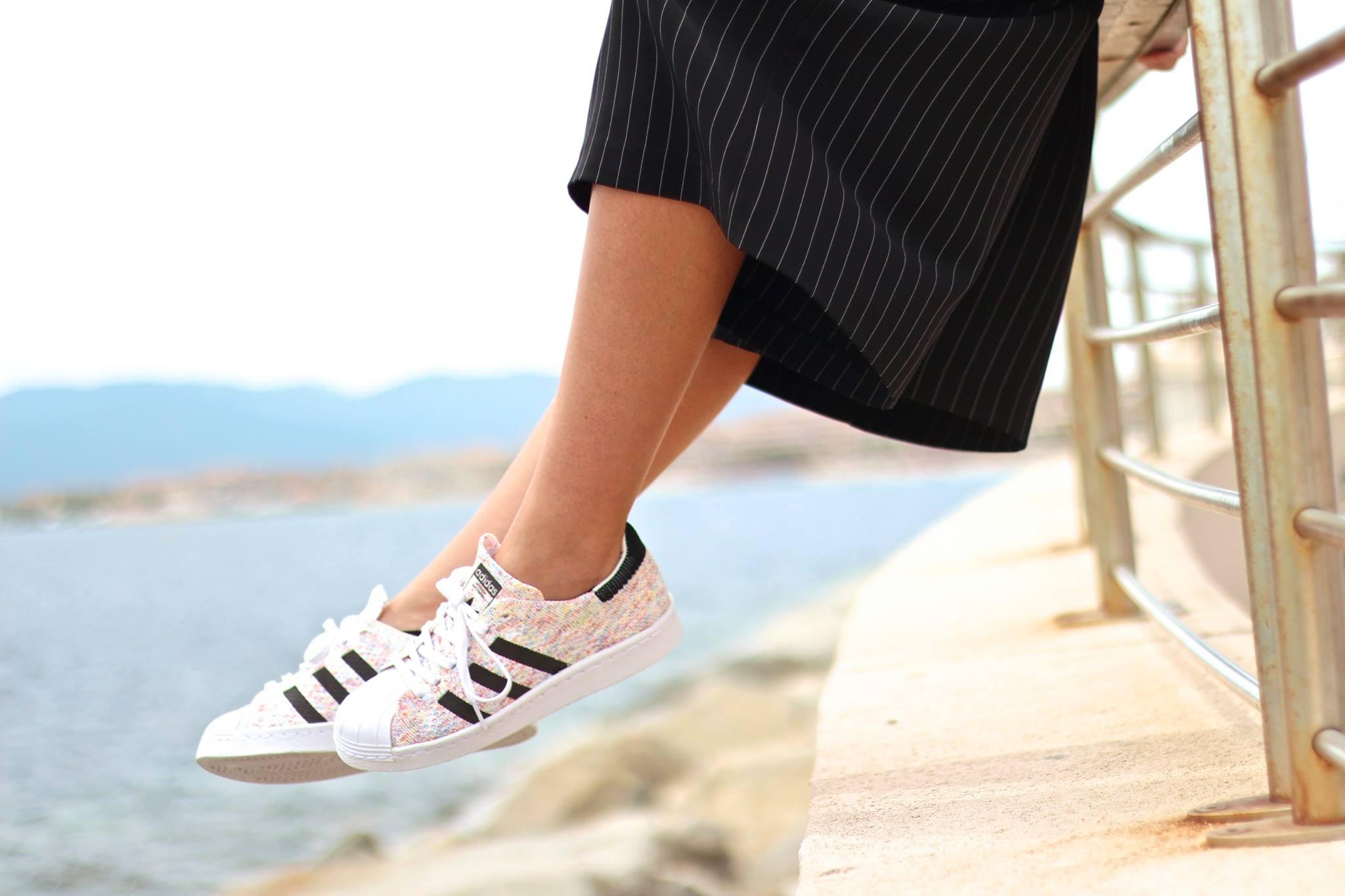 Marie Prevot - adidas Superstar 80's Primeknit Multi