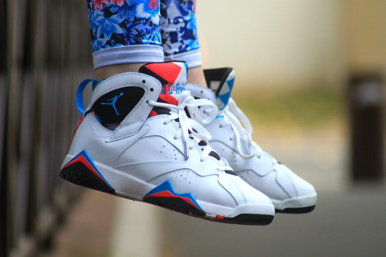 meet 55678 2c5a5 ... real ads sneaker 04d7a 7ab4a air jordan 7 orion on feet d2fed 6ae76 ...