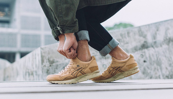 Monkey Time x Asics Gel Lyte V Sand Layer Release Info