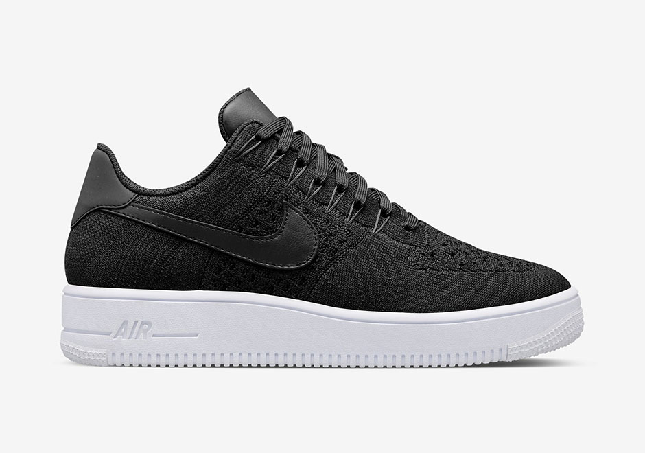 NikeLab-Air-Force-1-Low-Ultra-Flyknit-Black