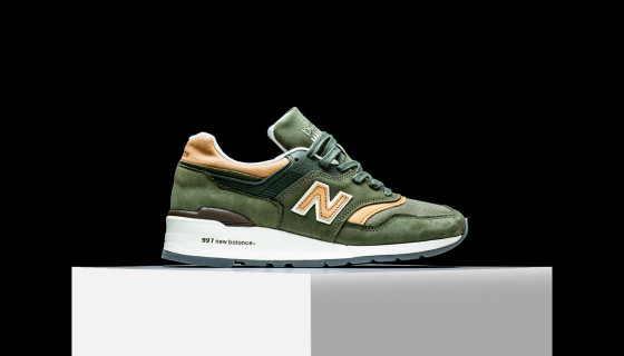 """New Balance Made In USA M997DCS """"Dusty Olive"""""""