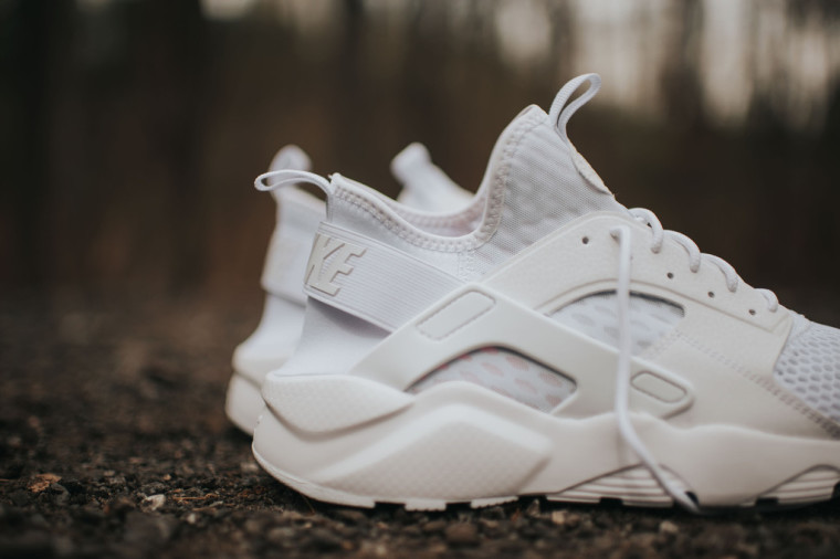 Nike Air Huarache Run Ultra BR Triple White