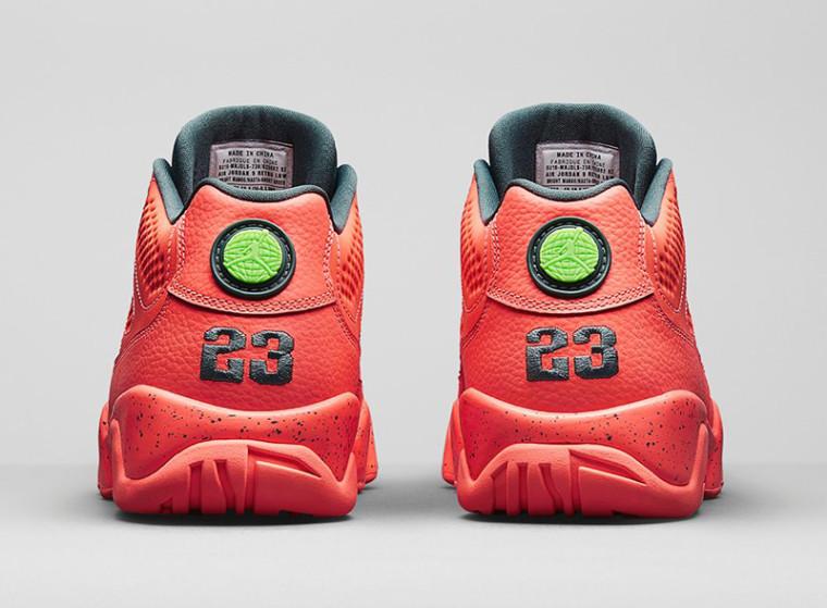 Air Jordan 9 Retro Low Bright Mango