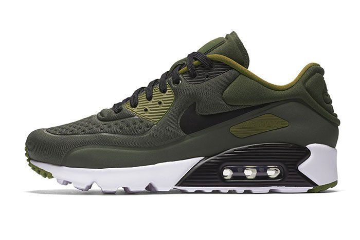nike air max 90 ultra se khaki sneakers addict. Black Bedroom Furniture Sets. Home Design Ideas