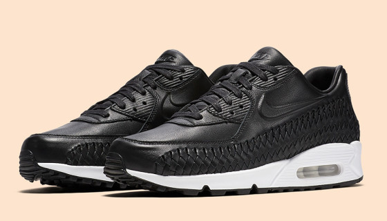 "Nike Air Max 90 Woven ""Black-White"""