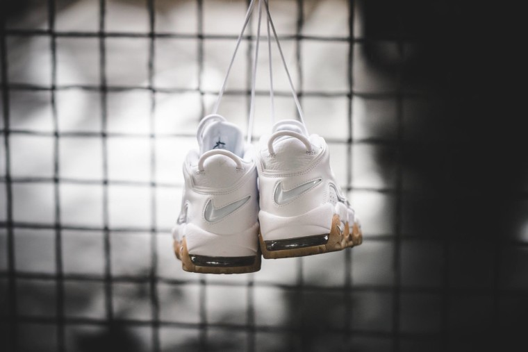 Nike Air More Uptempo White Gum