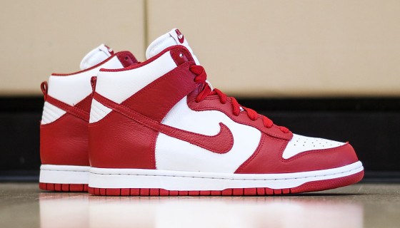 "Nike Dunk High QS Be True ""Red"""