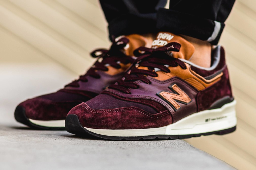 new balance 997 rose madrid