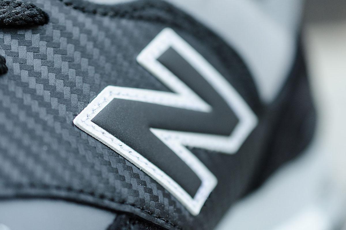 new balance made in uk m577k carbon fiber black grey wave. Black Bedroom Furniture Sets. Home Design Ideas