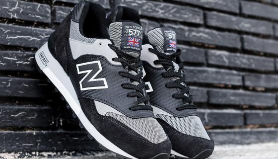 "New Balance Made In UK M577K ""Carbon Fiber"" Black/Grey"