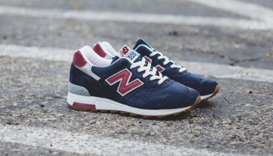 "New Balance Made In USA M1400CU ""Heritage"" Navy/Burgundy"