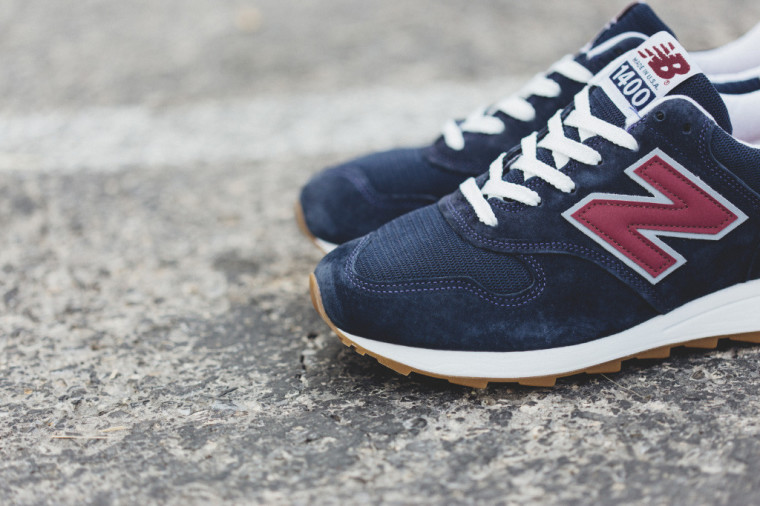 New Balance Made In USA M1400CU Heritage Navy:Burgundy