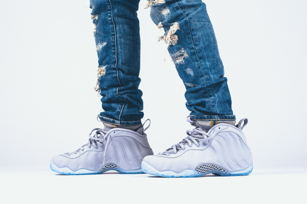 Nike Air Foamposite One PRM - Wolf Grey mcfly mag inspired