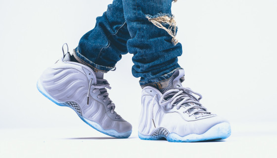 "Nike Air Foamposite One PRM ""Wolf Grey"""