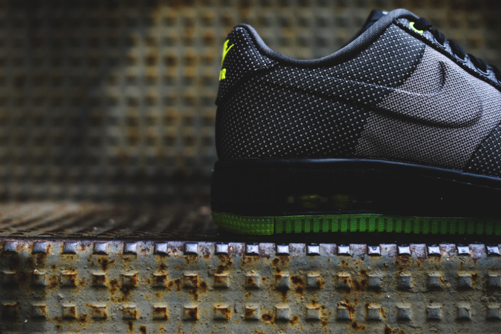 Nike Air Force 1 Elite KJCRD VT 'Black:Wolf Grey-Volt' 748299-002