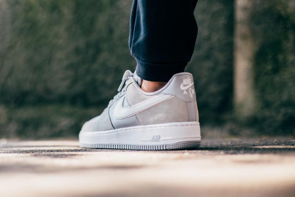 Nike Air Force 1 Grey:Pure Platinum 488298-090