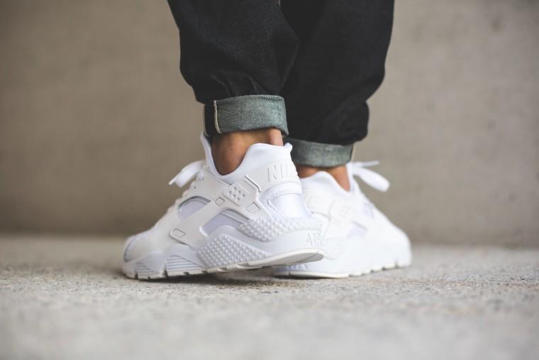 Nike Air Huarache - White:White:Pure Platinum 318429-111