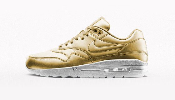 Nike Air Max 1 iD Gold & Silver Options