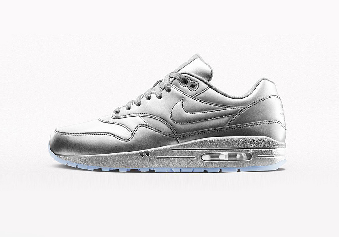 nike air max 1 id liquid metal sneakers addict. Black Bedroom Furniture Sets. Home Design Ideas