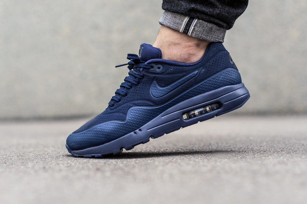 nike air max 1 essential navy bleu
