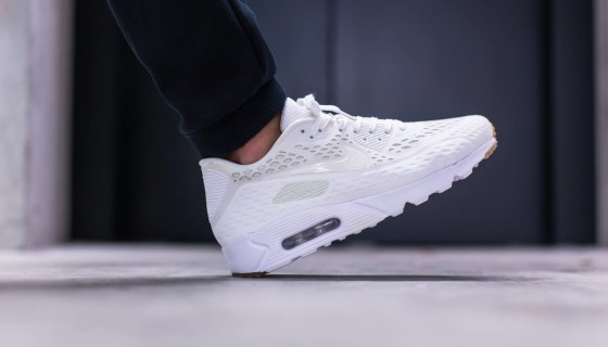 Nike Air Max 90 Ultra BR White and Black