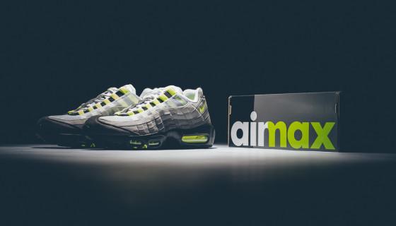 Nike Air Max 95 'OG Neon' Retro 2015 – Release Infos