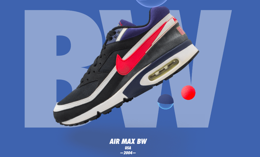 Nike Air Max BW USA 2004