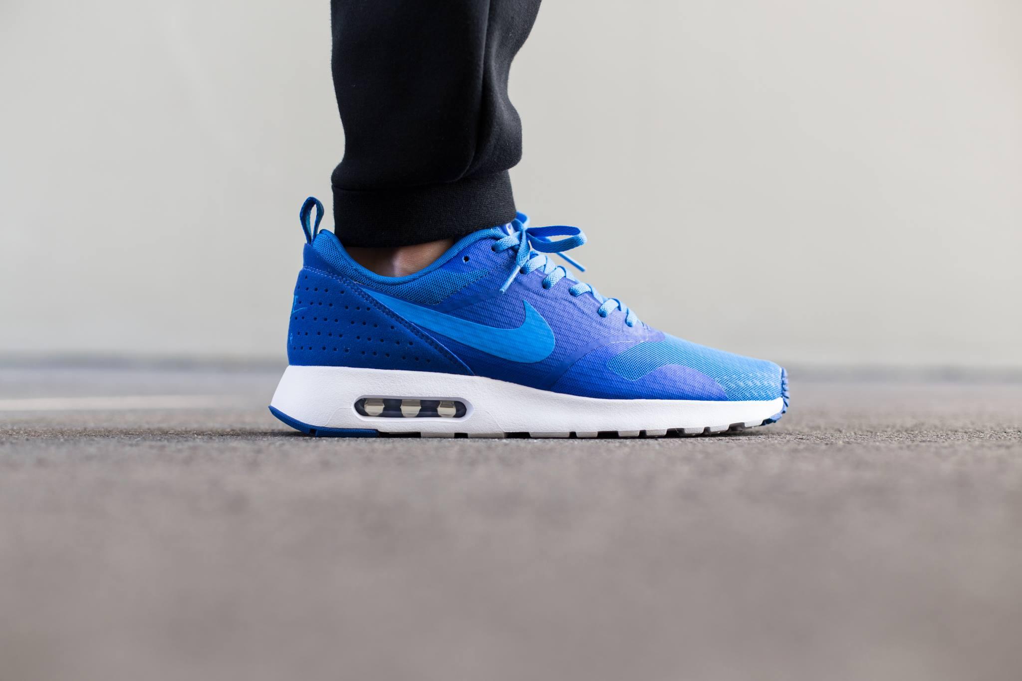Nike Air Max Tavas Essential Photo Blue Sneakers Addict