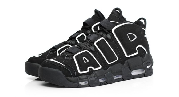Nike Air More Uptempo Black:White Retro 2016