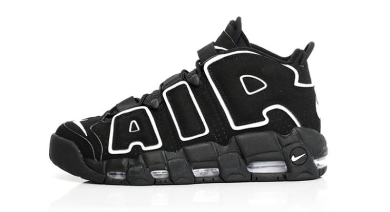 Nike Air More Uptempo Black:White Retro 2016