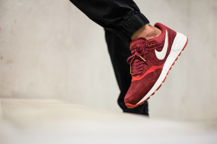 Nike Air Odyssey Leather - Team Red:Sail-Gym Red-Cinnabar 684773-601