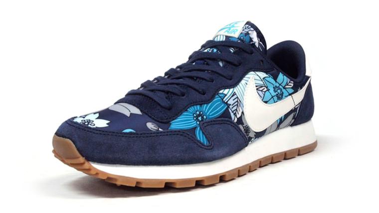 Nike Air Pegasus '83 Print Aloha  NVY:WHT:FLOWER 725079-400-