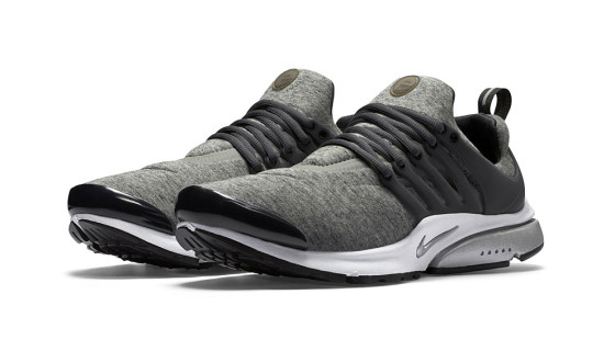 Nike Air Presto TP Tech Fleece QS Black And Grey