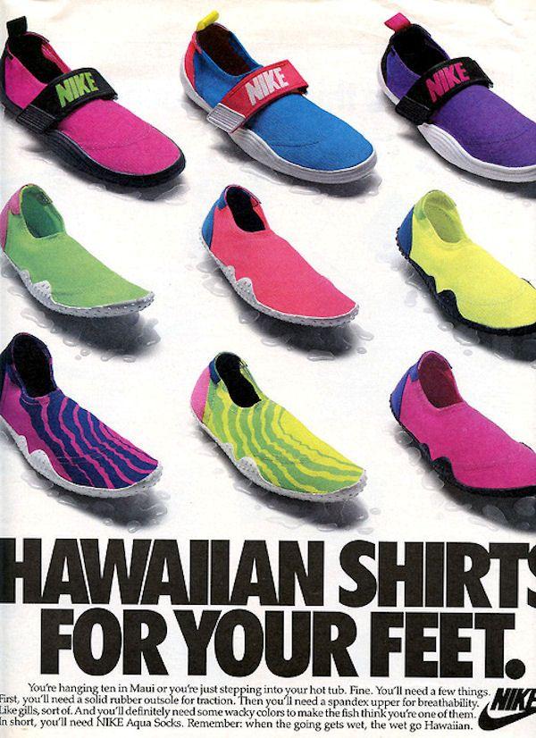 Nike-Aqua-Sock-1989-Hawaiian-Shirt-Ad