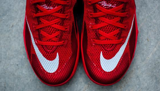 "Nike LeBron 12 Low Premium ""University Red"""