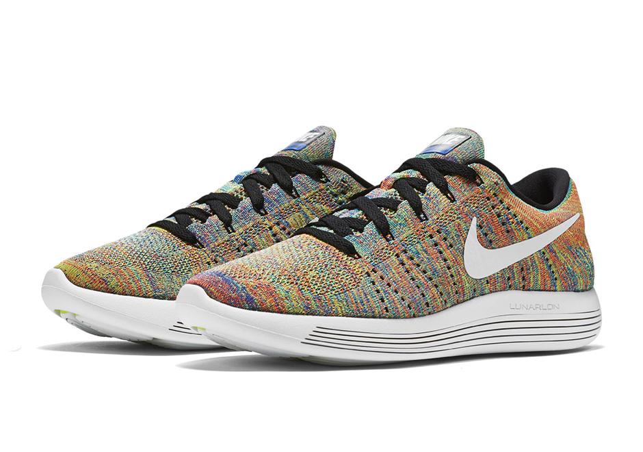 Nike LunarEpic Flyknit Low New Multicolor 1