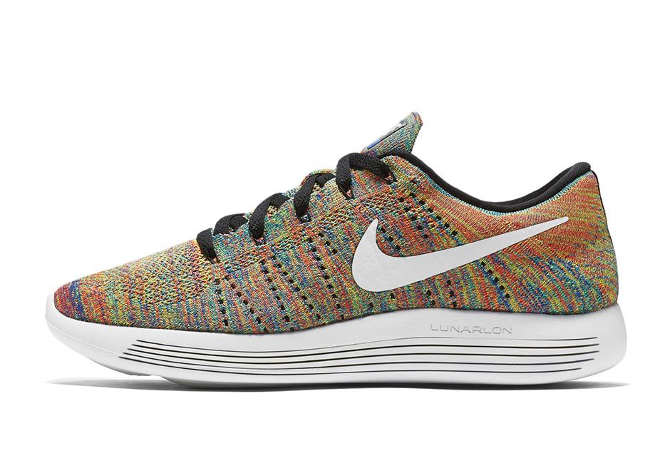 Nike LunarEpic Flyknit Low New Multicolor 2
