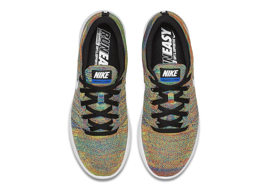 Nike LunarEpic Flyknit Low New Multicolor 3