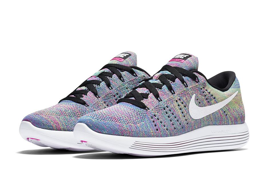 Nike LunarEpic Flyknit Low New Multicolor 5