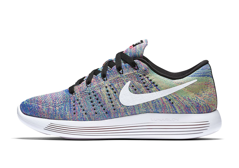 Nike LunarEpic Flyknit Low New Multicolor 6