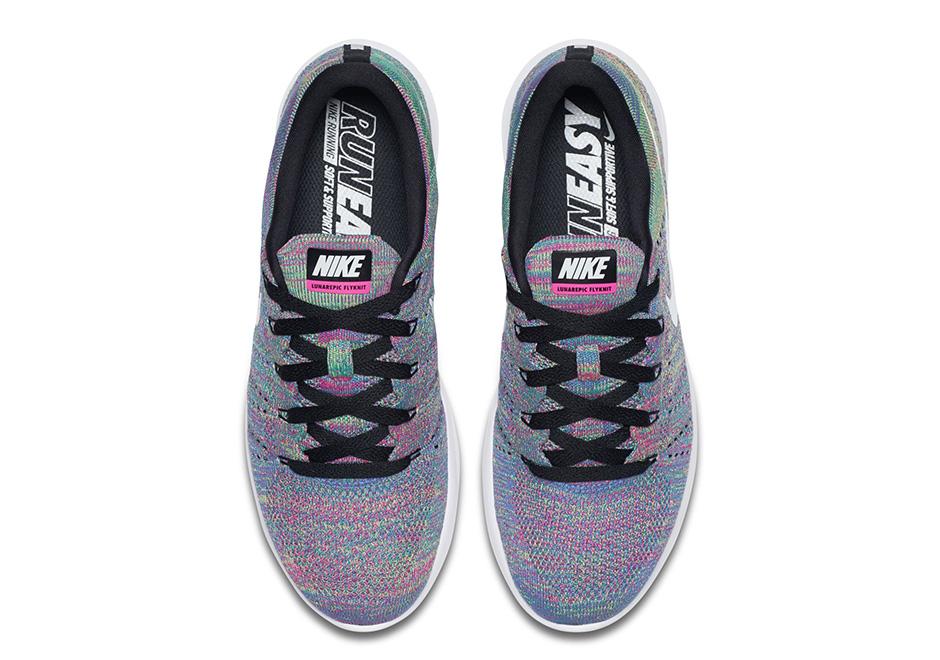 Nike LunarEpic Flyknit Low New Multicolor 7