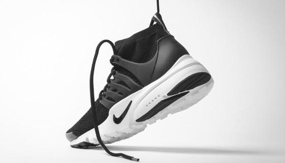 Nike Presto Flyknit Ultra Black & White