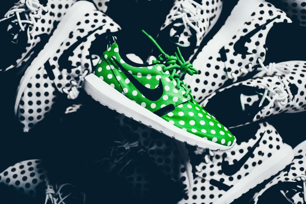 Nike Roshe NM QS Polka Dot Pack - Green:White