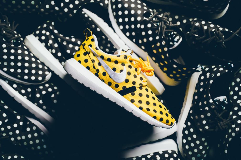 Nike Roshe NM QS Polka Dot Pack - Maize:Black