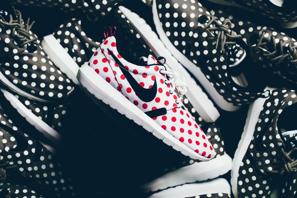 Nike Roshe NM QS Polka Dot Pack - White:Red